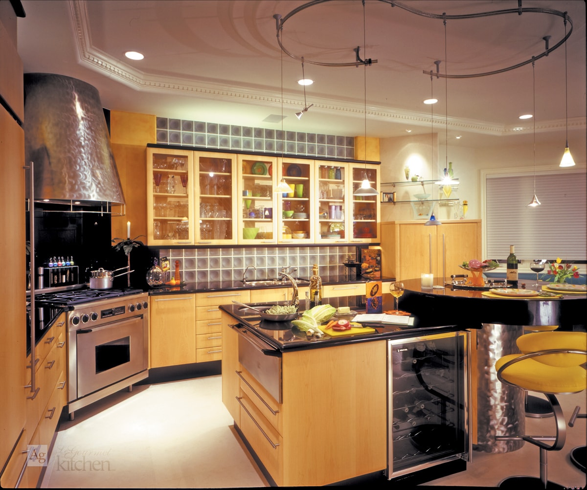 One-of-a-Kind Contemporary Kitchen