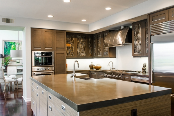 Customized Contemporary Kitchen in Newport Beach