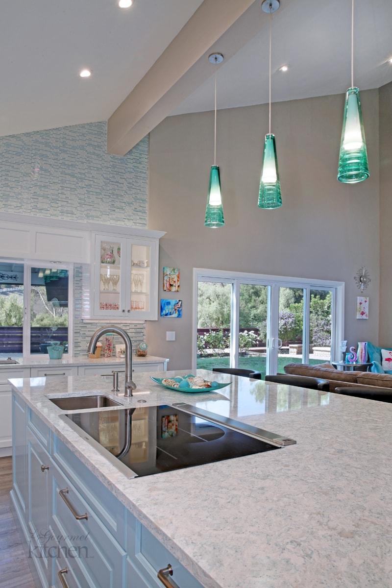 kitchen design with undermount sink